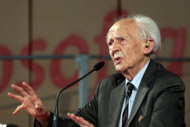Zgymunt Bauman divorcio politica globalizado