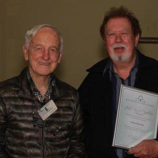 Bob receives John Pascoe Trophy