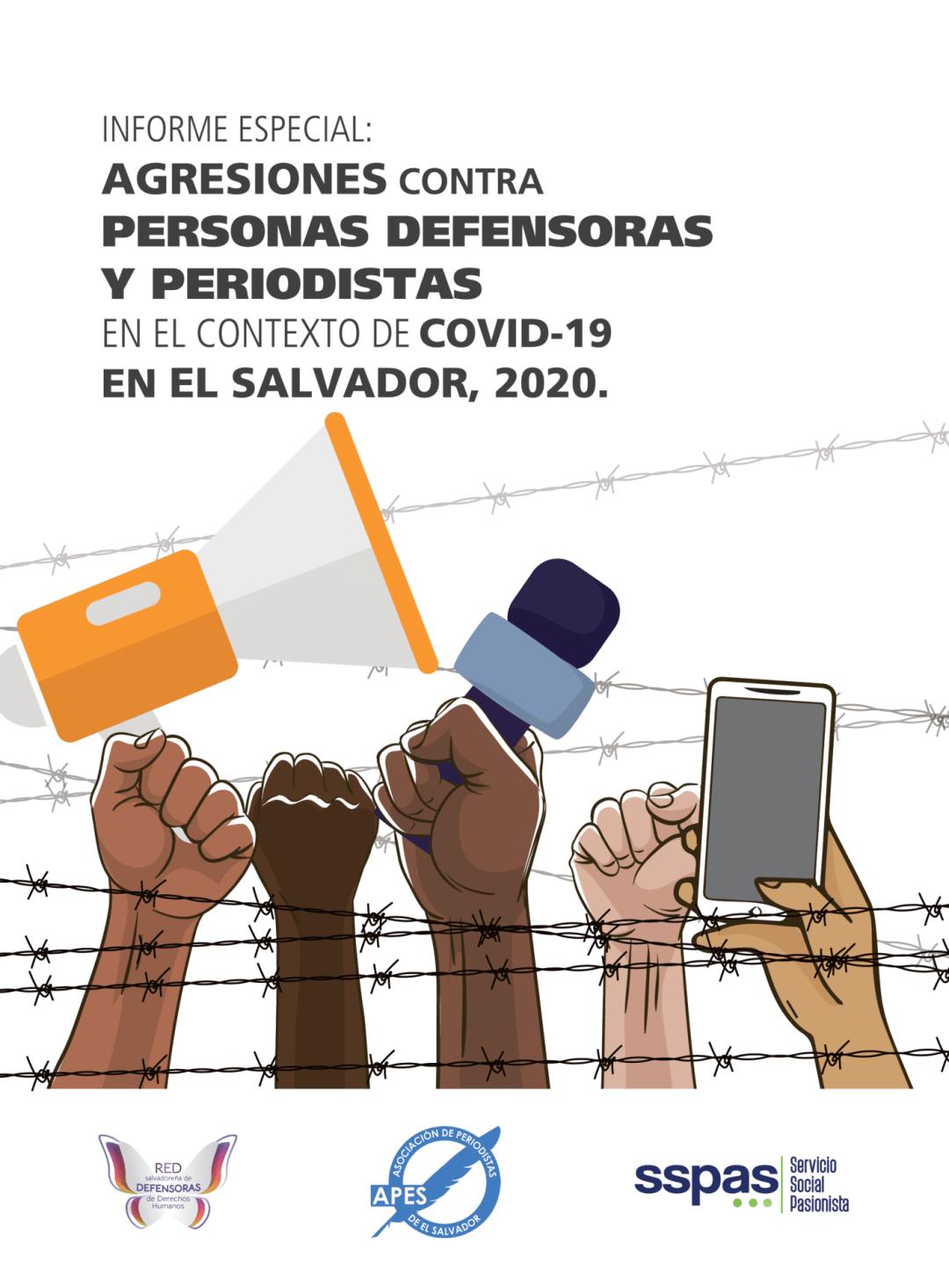 Informe agresiones defensoras y periodistas