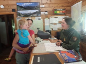 Junior Ranger in the making