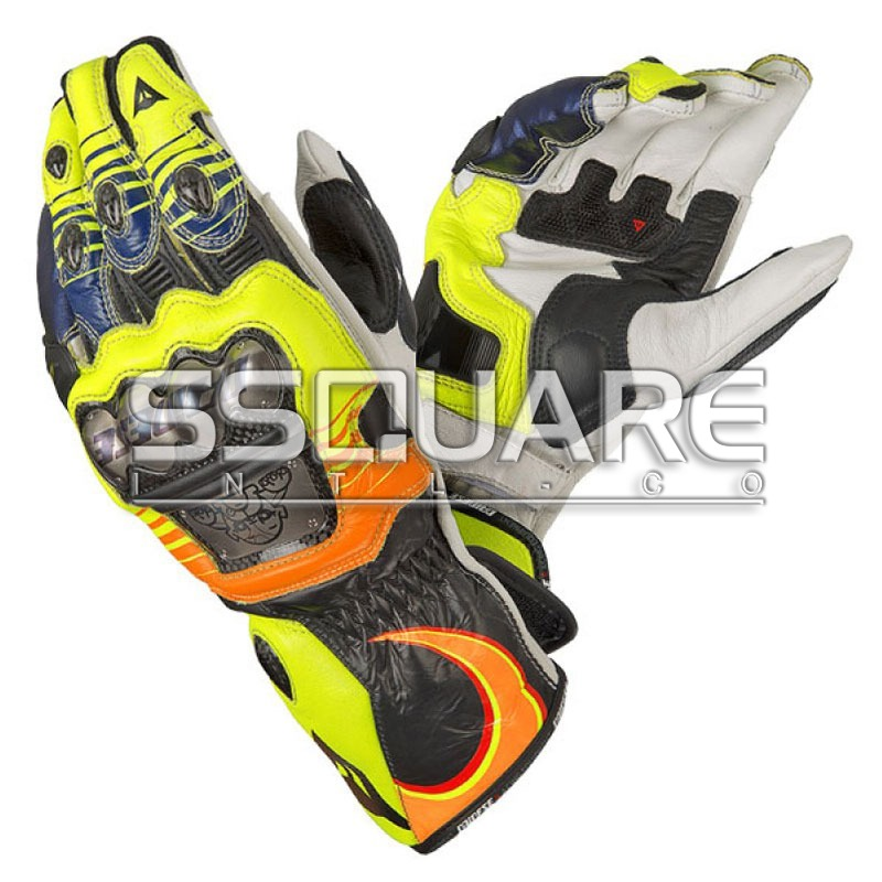 Valentino Rossi 46 Motogp 2013 Race Leather Gloves