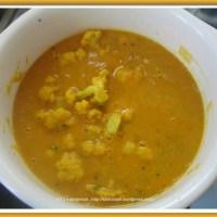 Cauliflower Sambar
