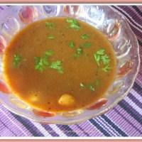 Poondu(Garlic) Kuzhambu(Sambar)