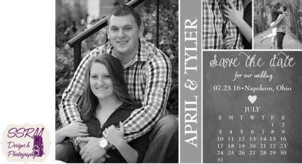 Decant & Johnson Wedding Save The Date