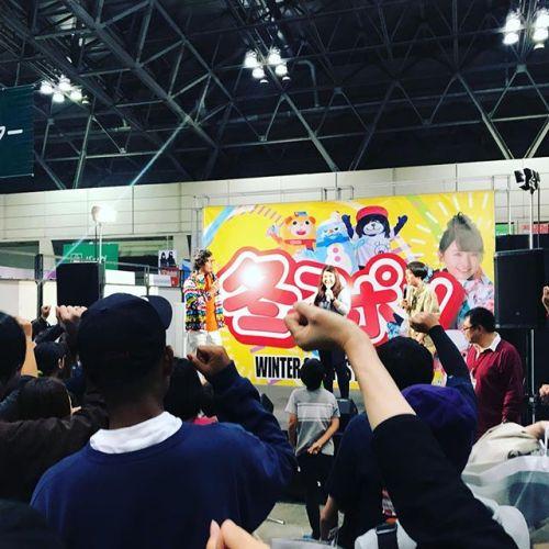 ちょっと久しぶりになってしまいましたが、先週は冬スポというスキースノボー用品のお祭り。@幕張メッセこちらでライブイベントもやってます!ここでアーティストのブッキング。2月中旬までこれから毎週末のように全国で冬スポ!冬はいろんなところに駆け回ります。http://www.fuyusupo.jp/music-caravan/#冬スポ#幕張メッセ#イベント#スノボー