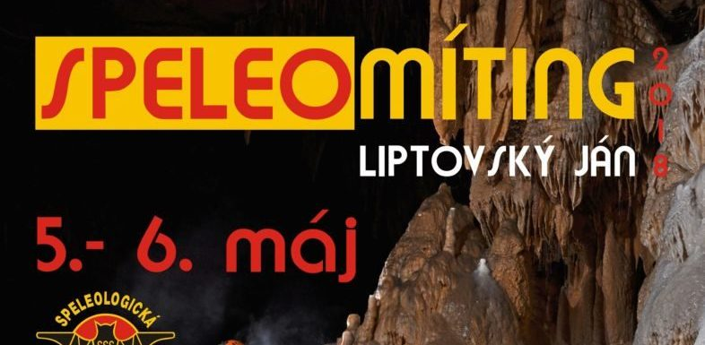 dolina, Speleomíting 2018 – program exkurzií a pracovných akcií, Slovenská speleologická spoločnosť