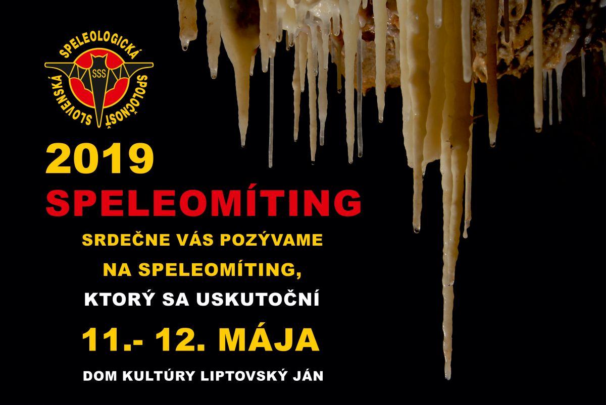 speleomíting, Pozvánka – Speleomíting 2019, Slovenská speleologická spoločnosť