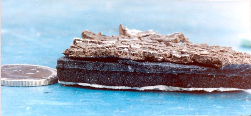 Phosphatation Scum Drying