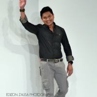 paul dominic aquino of the elites model management joins the philippine fashion week!