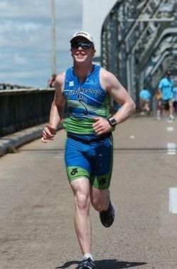 Aussie Rob enjoys the marathon