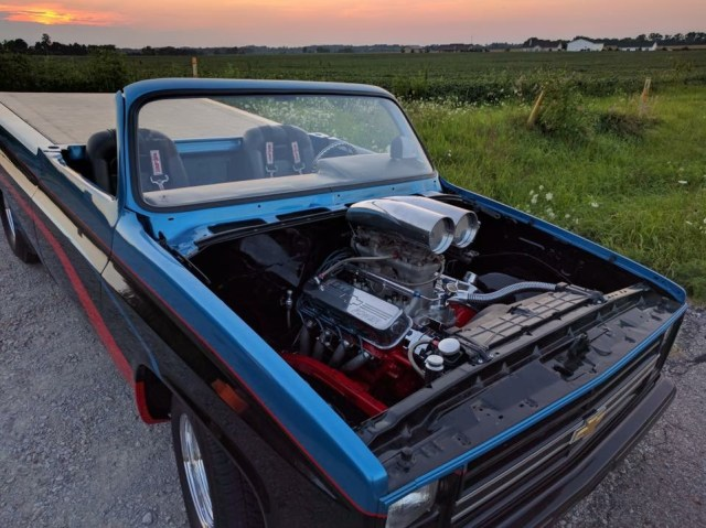 468 Big Block in the Pro Street Truck