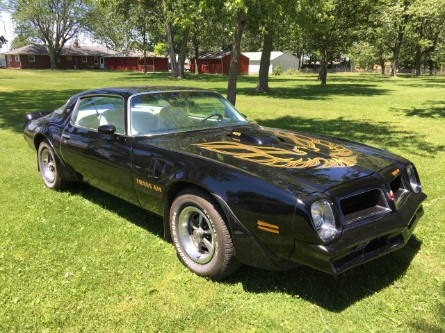 1975 Pontiac Firebird.  All original!