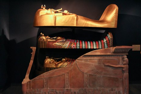 Egyptian sarcophagus.