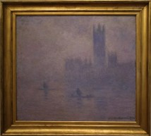 House of Parliament: Effect of Fog, London, Claude Monet.