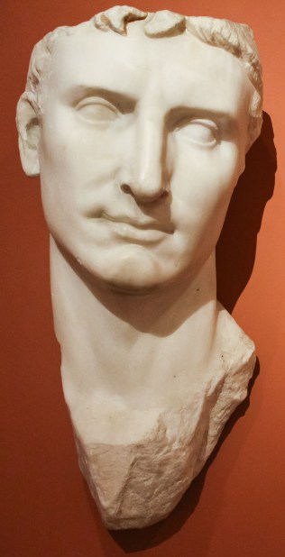 Portrait of Augustus, First Emperor of Rome. Anonymous.