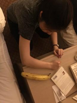 gigantic banana