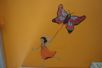 And to my fairies painted on my walls