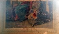 На этой фреске тоже срезаны головы