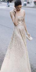 Een heel opzichtig kleed - Oscar De La Renta