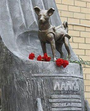 Laika Statue