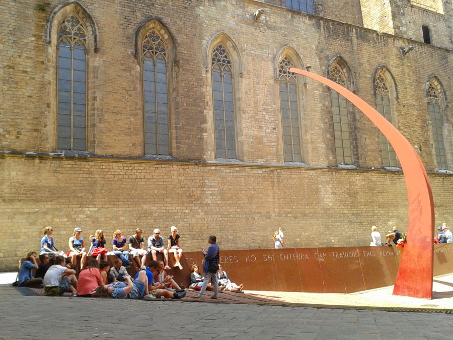 Learning in Barcelona, Spain as part of Europe travel term