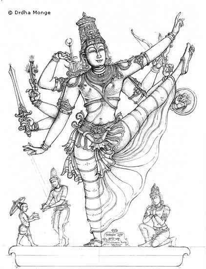 Vishnu prima parte Trivikrama