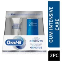 Oral B Intense Gum Treatment Gum Care Toothpaste 85ml + Protective Gel 63ml, Clinically Proven Results in 1 Week