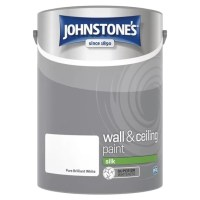 Johnstone's silk emulsion is an attractive high sheen paint perfect for indoors.