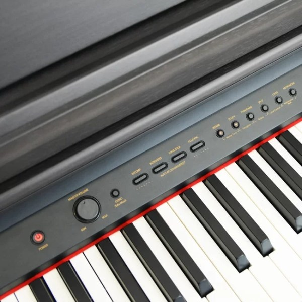 Axus D2 Digital Piano and Bench Black
