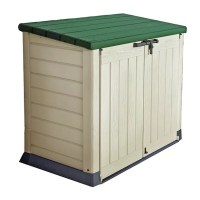 Keter Store It Out Max 1200L Storage Shed - Beige/Green275/5126
