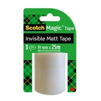 Refill rolls can be used in all Scotch tape dispensers with a 2,54cm core, or can be used alone