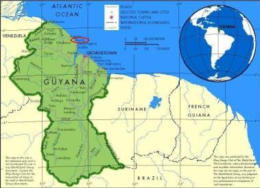map.guyana