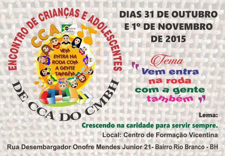 ENCONTRO CCA 2015