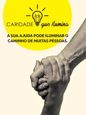 Projeto Caridade que ilumina