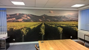 Large Format Digital Print Office Wallpaper