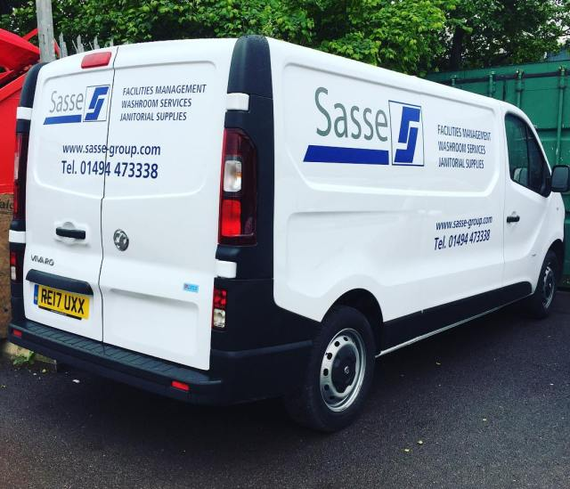 SASSE vehicle livery