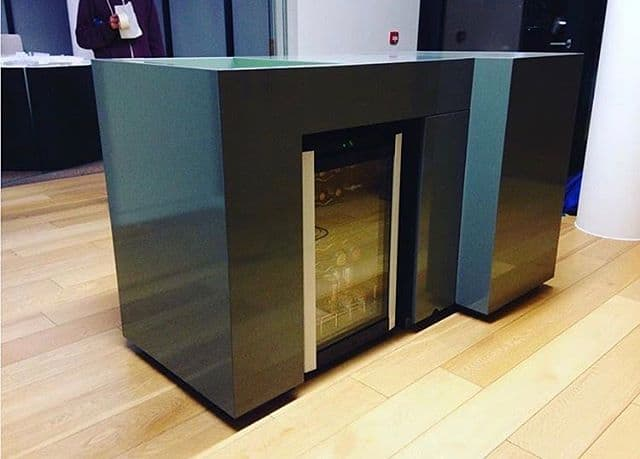 Drinks cabinet wrapped to give it an extra lease of life