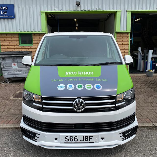 Vehicle livery complete for @johnbrunofit