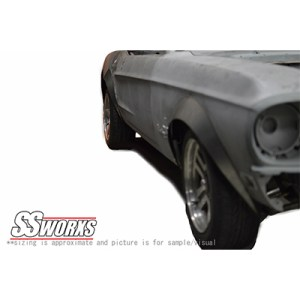 Ford Mustang Aggressive Fender Flare