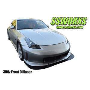 SSworxs Nissan z33 350z Front Diffuser