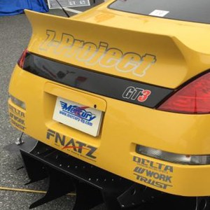 Mercury Z Project Rear Bumper Carbon Garnish