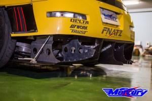 Mercury Z Project GT3 Rear Diffuser Z33/350z