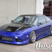 Car Modify Wonder 180sx Glare Hood 3 Lotus vent 4