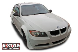 N-Style Custom BMW E90 3 Series Fender Flares
