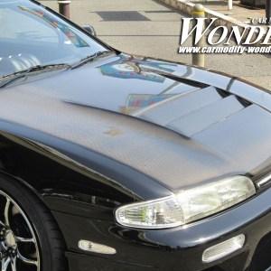 Glare Nissan S14 Silvia Lotus Zenki Hood