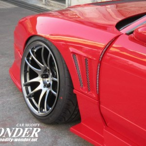 Glare 180sx 240sx GT Front Fenders 30mm