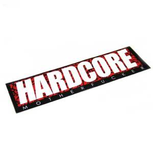 HARDCORE MF ELEPHANTBAR BUMPER STICKER #10