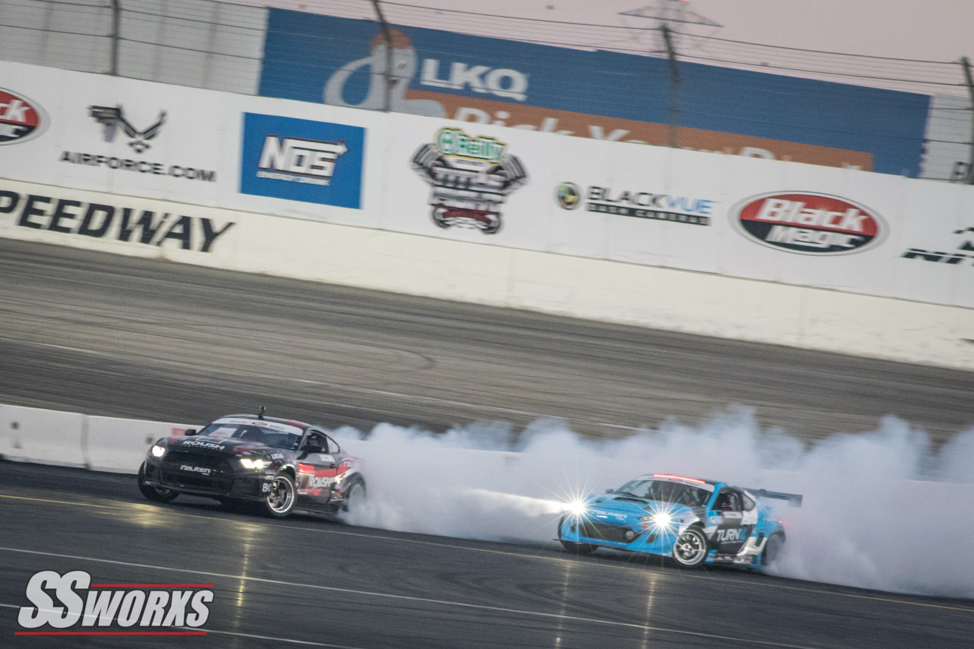 Formula D Irwindale Speedway 2017 Thursday and Friday