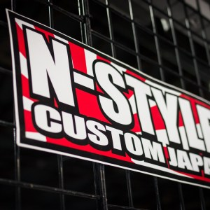 N-style Custom Japan Sticker