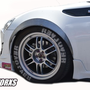 Scion FR-S GT86 Metal Fender Flares